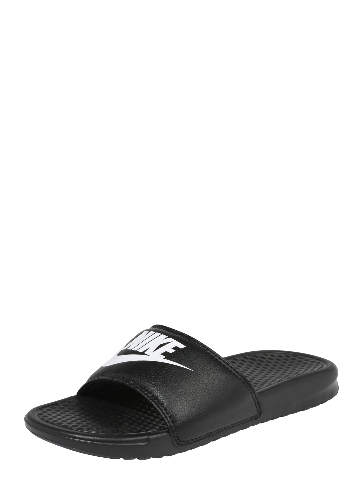 Nike Sportswear Šľapky 'BENASSI'  čierna / biela