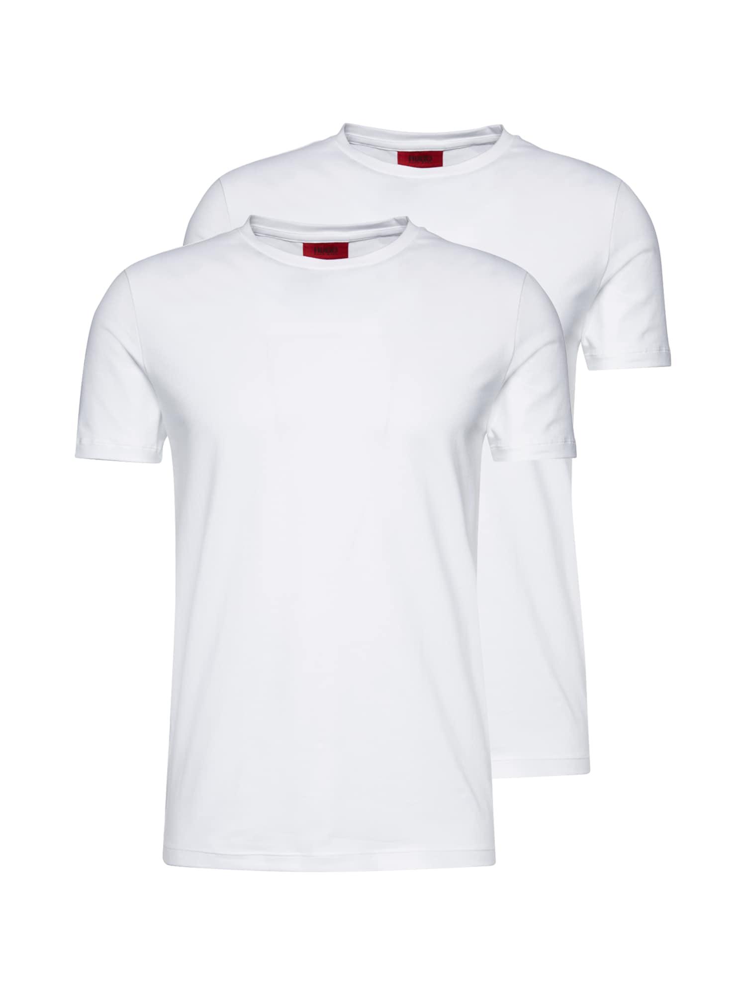 HUGO Marškinėliai 'Round' balta