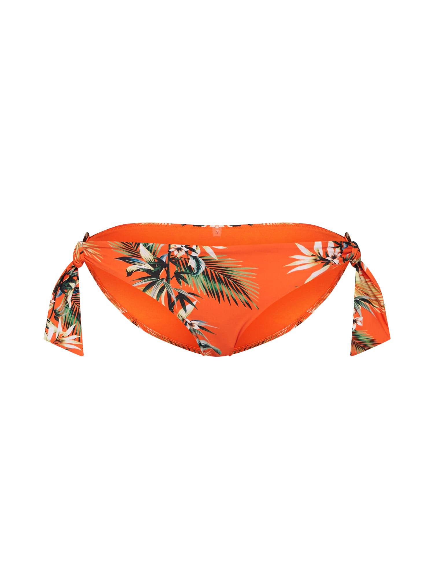 Seafolly Slip costum de baie  culori mixte / portocaliu