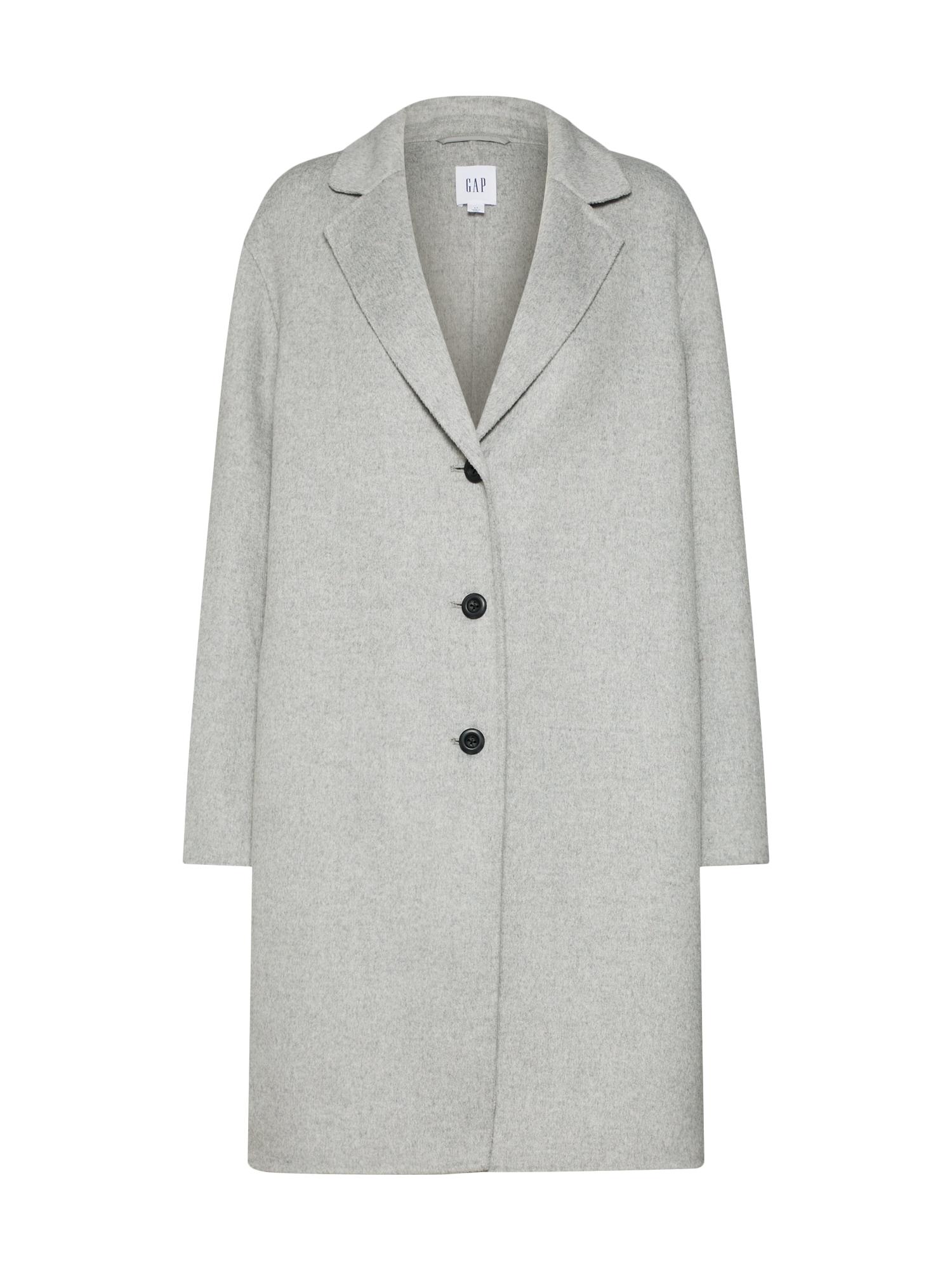 GAP Rudeninis-žieminis paltas margai pilka
