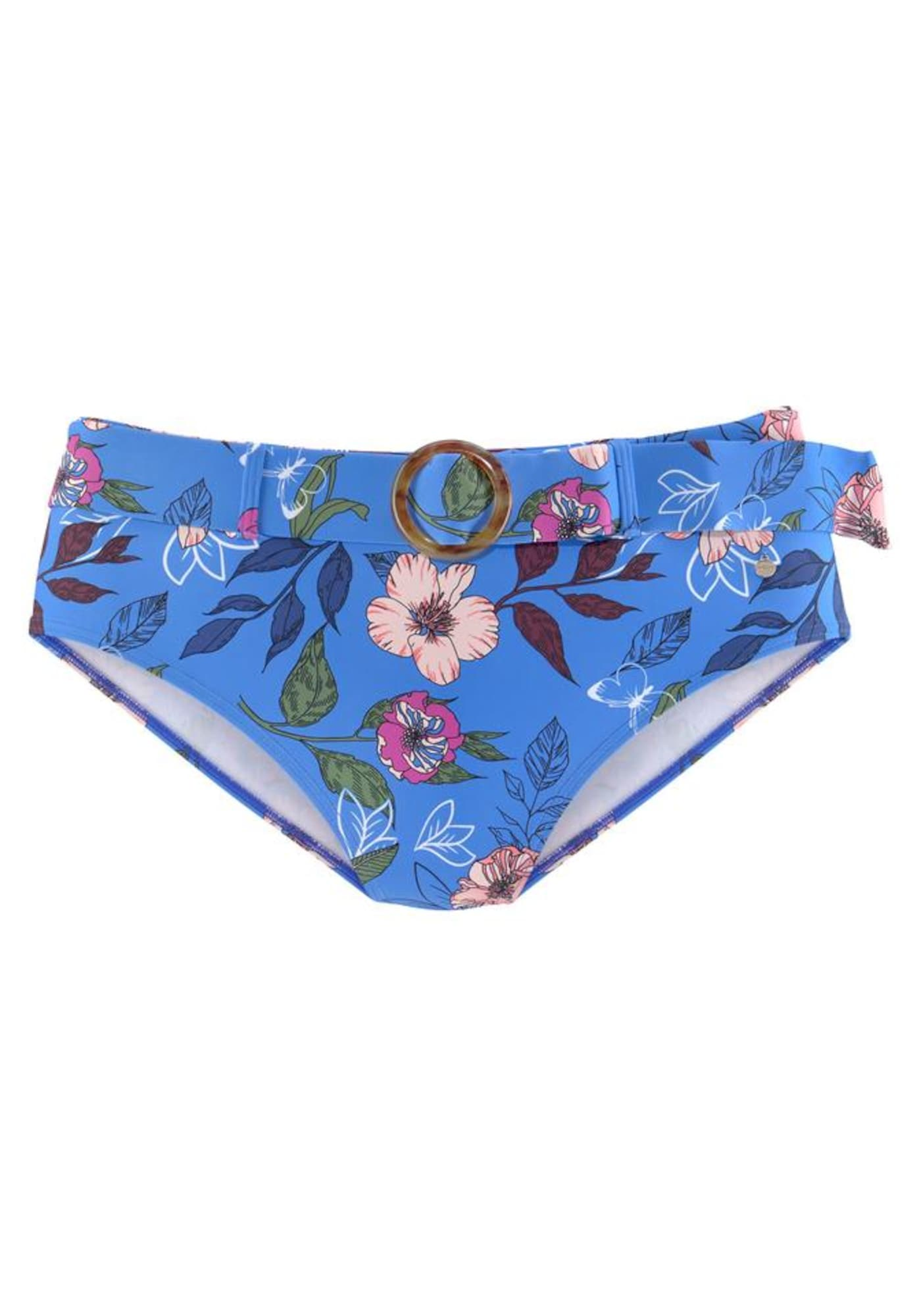 s.Oliver Bikinio kelnaitės mėlyna / mišrios spalvos