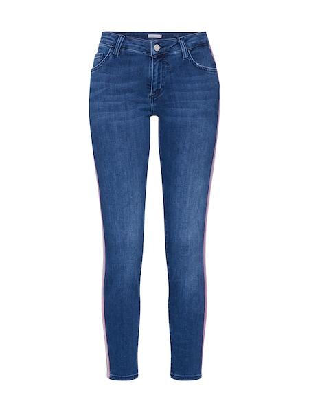 Hosen - Jeans 'Athleisure' › Rich Royal › blue denim gold rosa  - Onlineshop ABOUT YOU