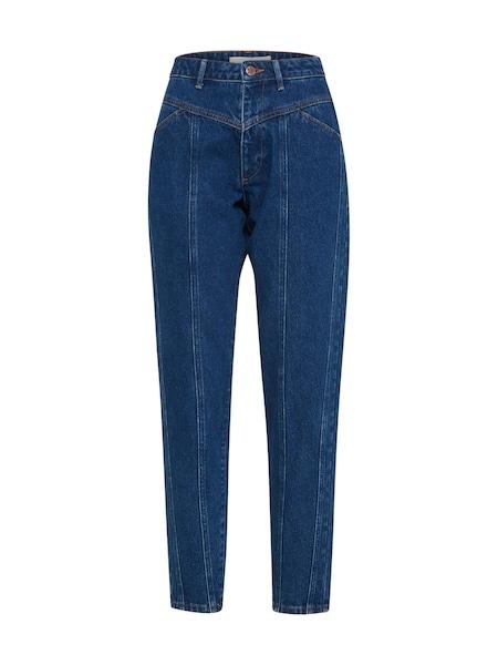 Hosen für Frauen - POSTYR Jeans 'POSMARGUERIT JEANS' blue denim  - Onlineshop ABOUT YOU