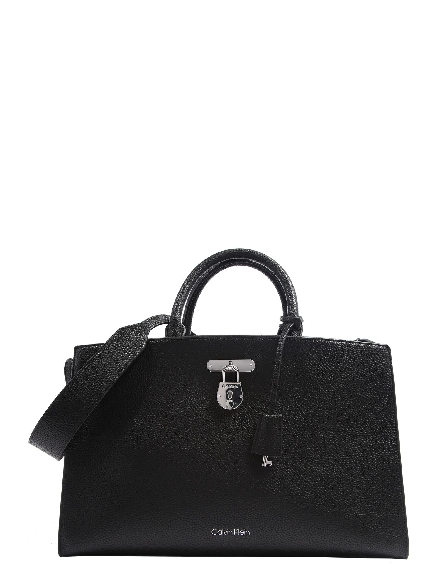Calvin Klein Rankinė 'DRESSED BUSINESS' juoda