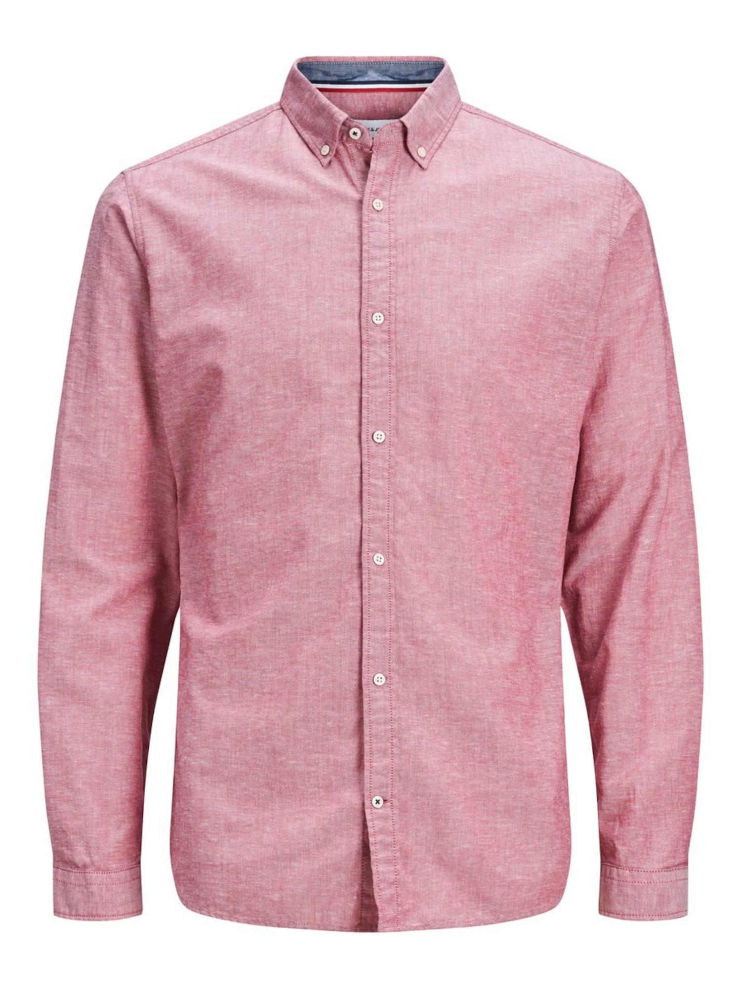JACK & JONES Marškiniai šviesiai raudona
