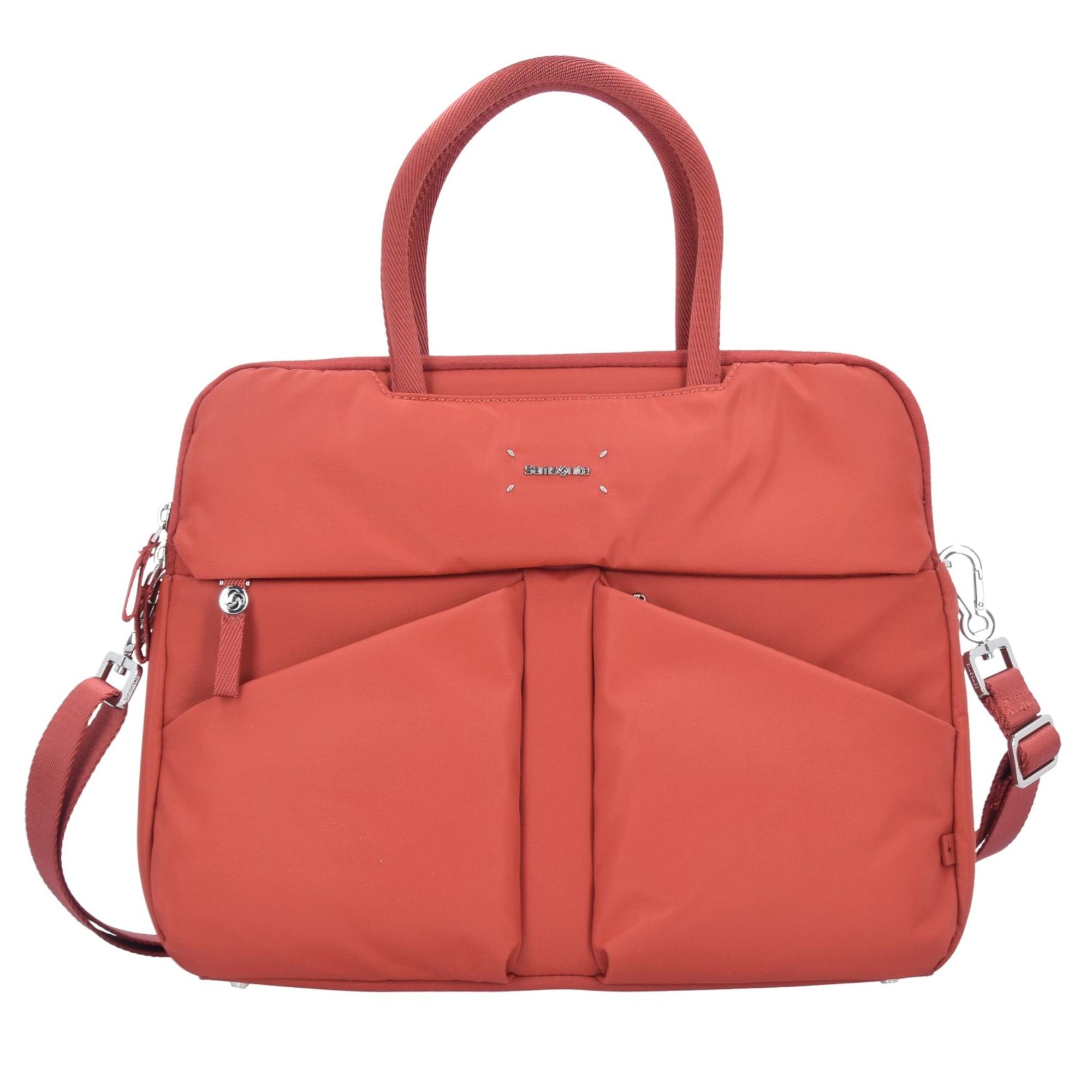 Damen SAMSONITE Lady Tech Businesstasche 37 5 cm Laptopfach braun | 05414847730535
