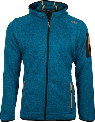 CMP F.lli Campagnolo Fleecejacke 'Knitted Fix Hood' Jacket