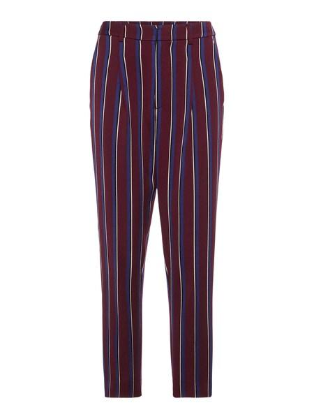 Hosen für Frauen - POSTYR Hose blau burgunder weiß  - Onlineshop ABOUT YOU