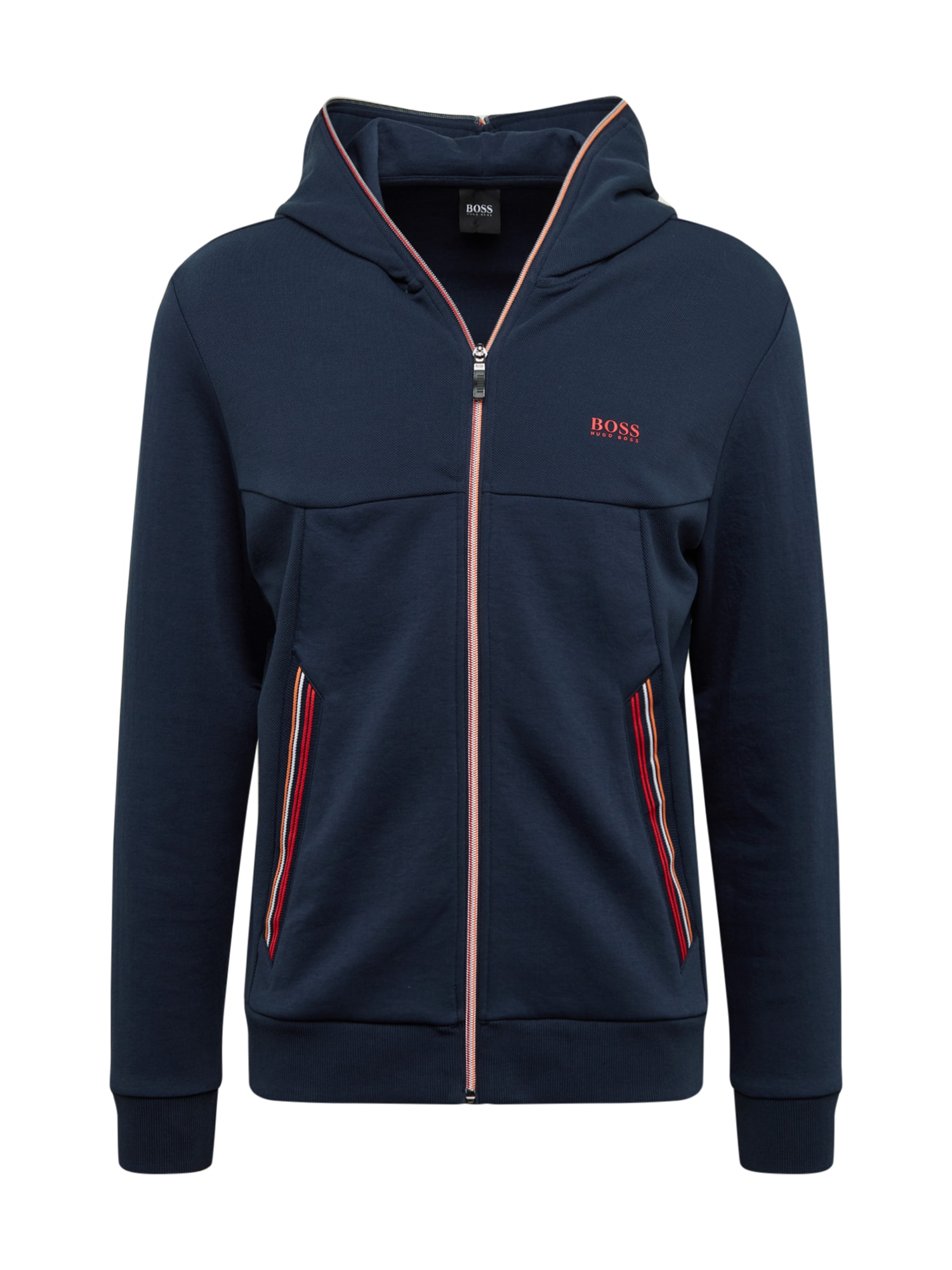 BOSS ATHLEISURE Sportinis džemperis 'Saggy' tamsiai mėlyna