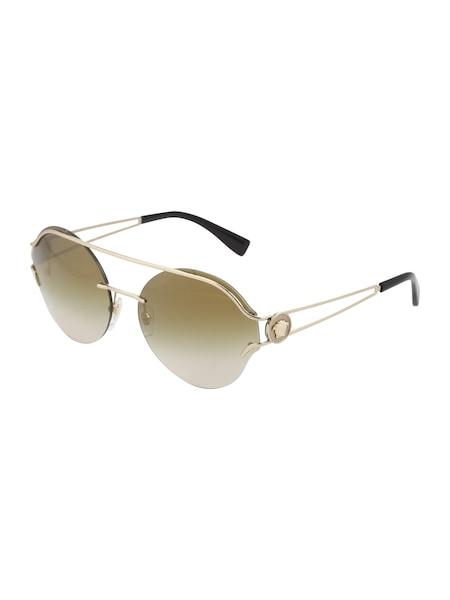 Sonnenbrillen - Casual Sonnenbrille im Piloten Style › Versace › braun gold  - Onlineshop ABOUT YOU