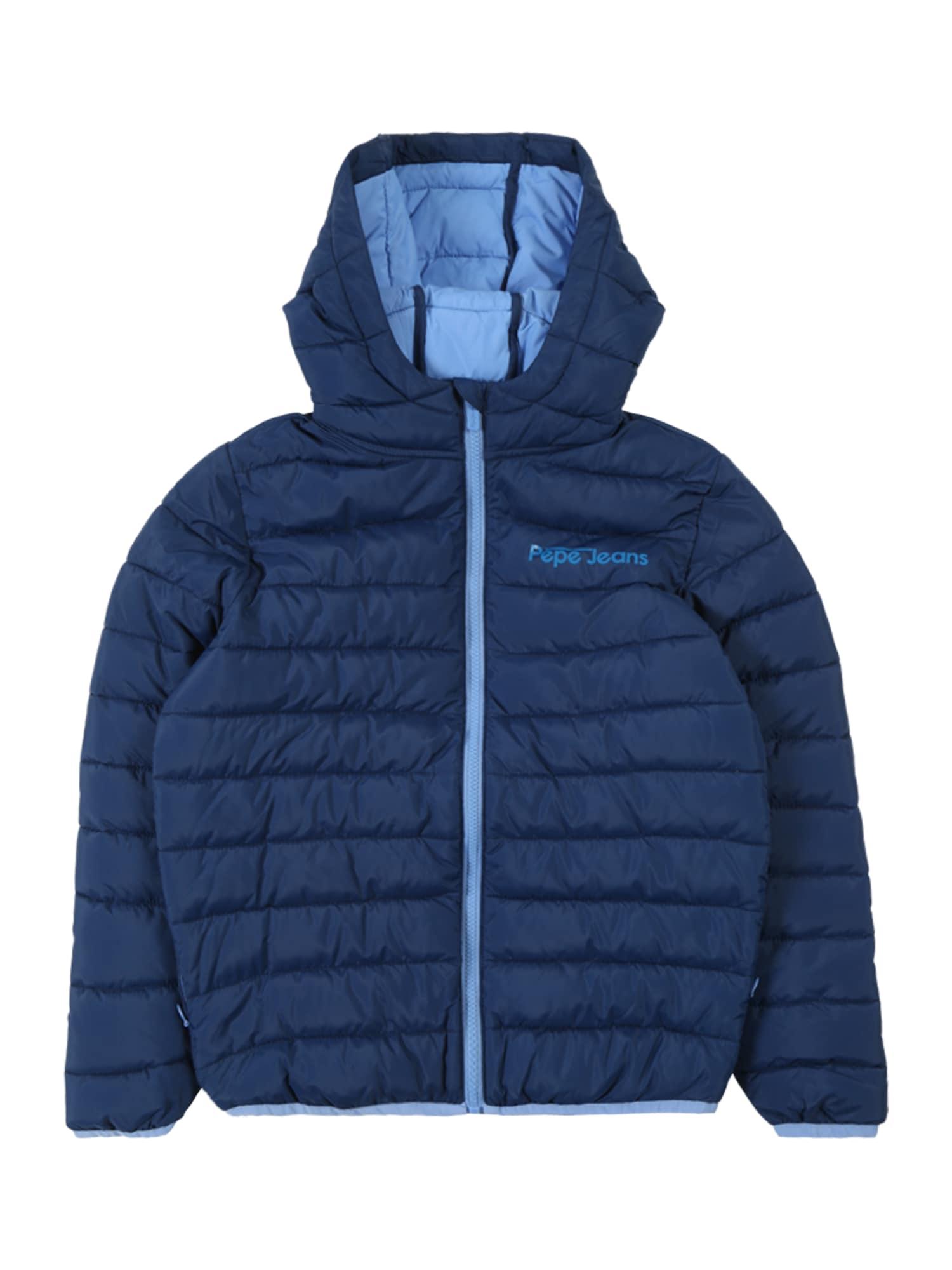 Přechodná bunda DURHAM modrá Pepe Jeans
