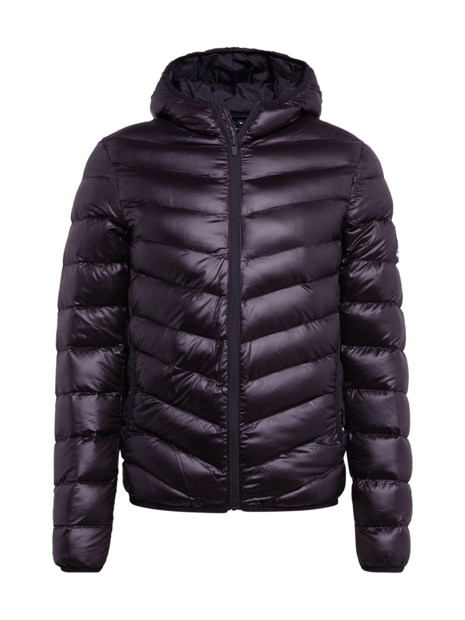BRAVE SOUL Zimní bunda 'MJK-GRANTSHINE19'  černá