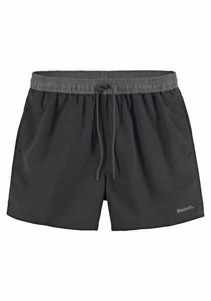 Bademode - Badeshorts › Bench › grau schwarz  - Onlineshop ABOUT YOU