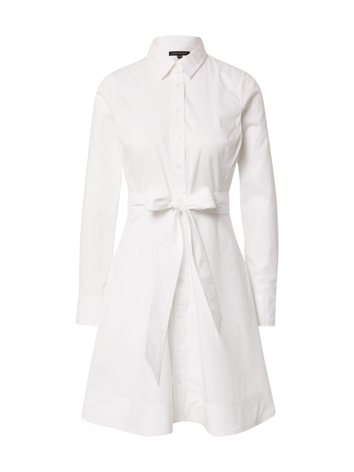 Banana Republic Palaidinės tipo suknelė balta