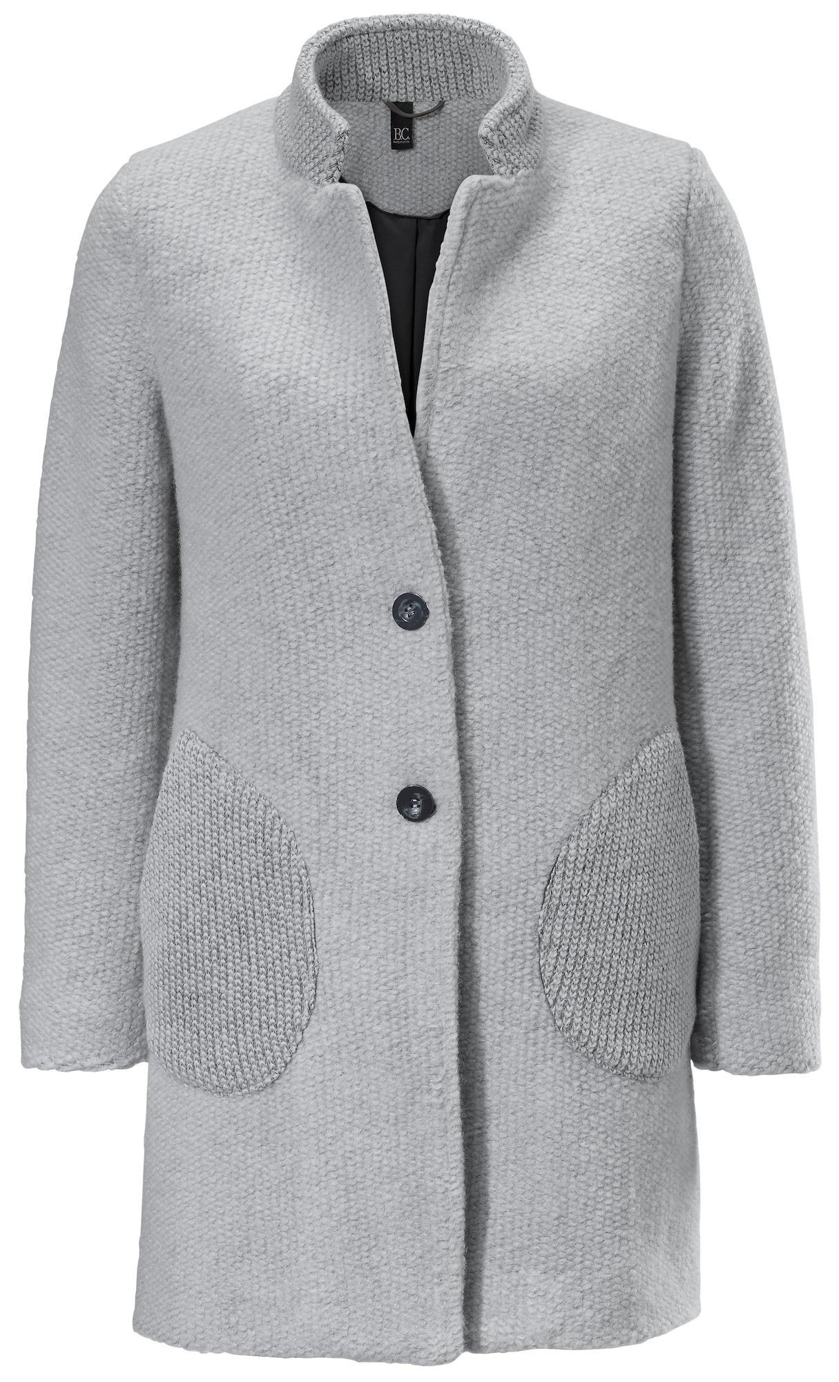 heine Demisezoninis paltas pilka