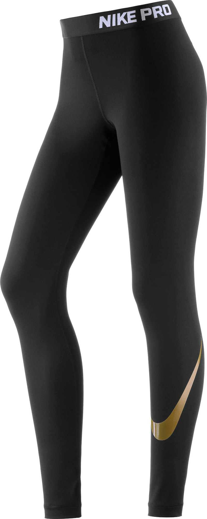 nike 39 pro cool 39 tights damen in schwarz. Black Bedroom Furniture Sets. Home Design Ideas