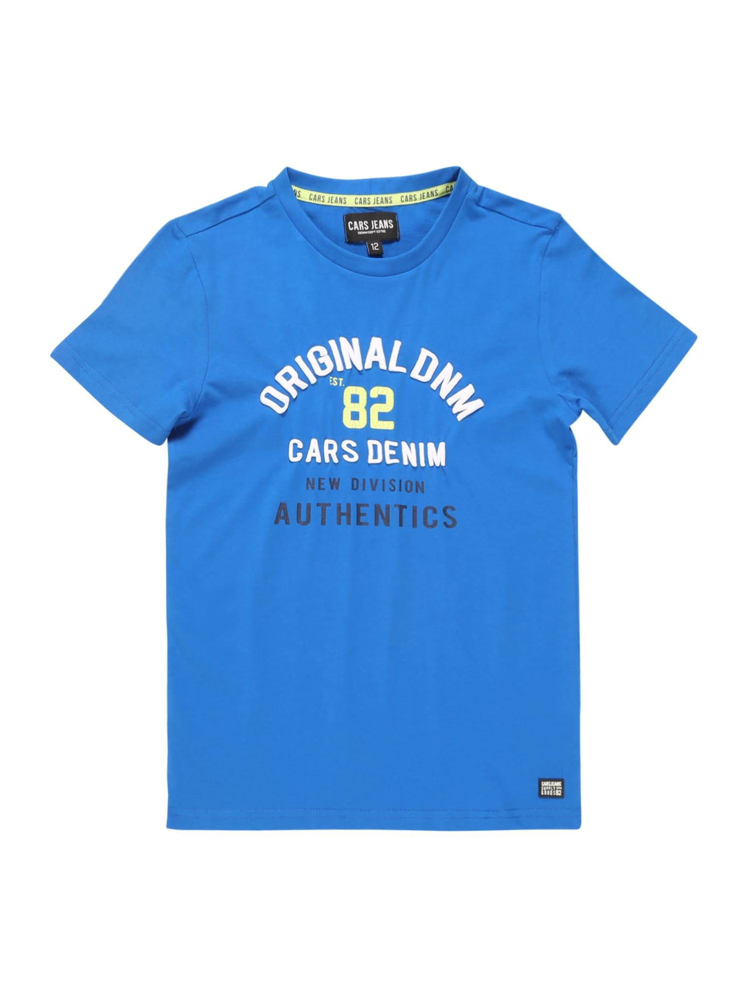 Cars Jeans Marškinėliai 'KIDS ABRAM TS' kobalto mėlyna