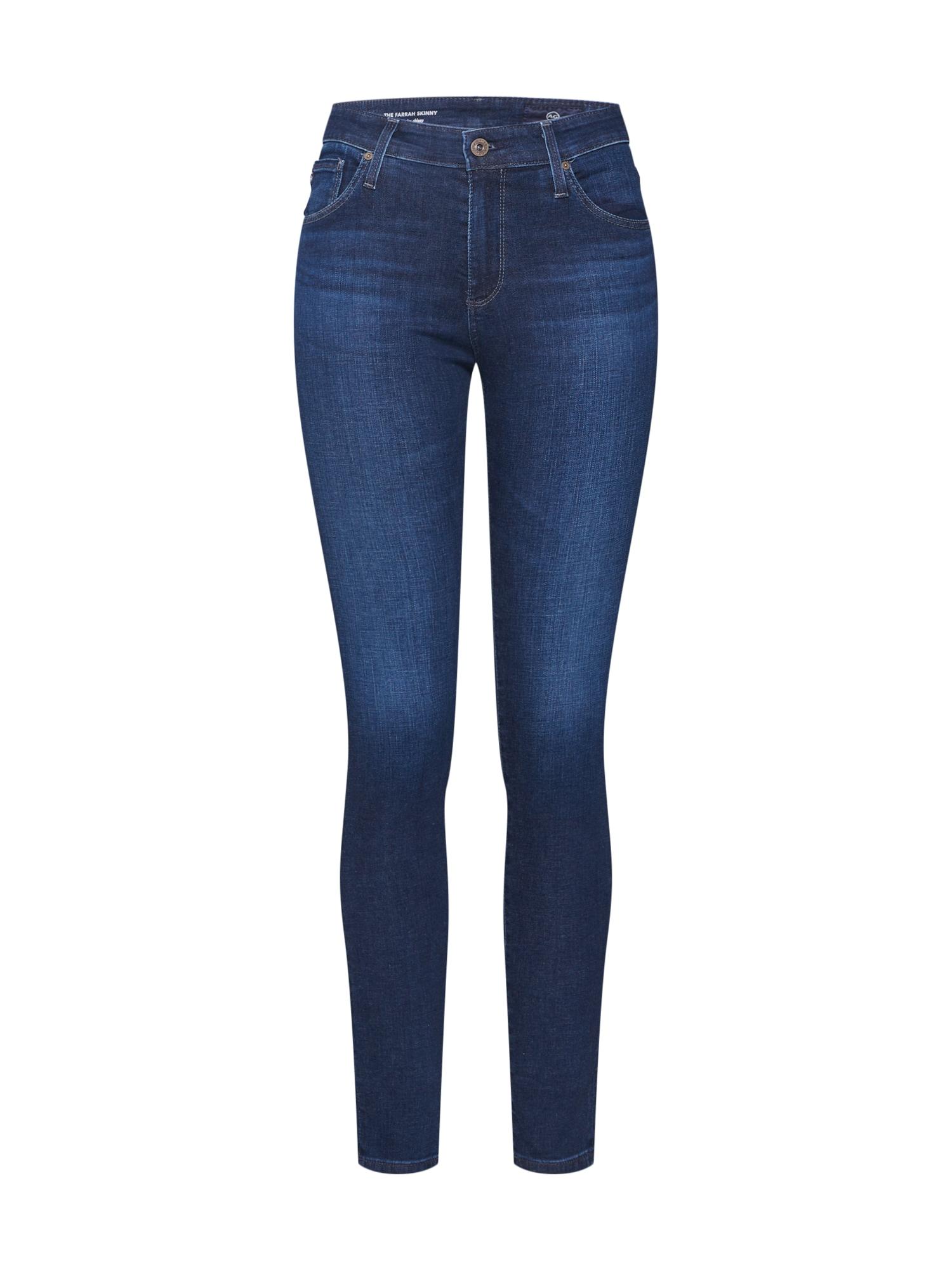 Džíny Farrah modrá džínovina AG Jeans