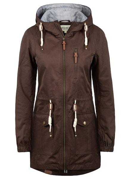 Jacken für Frauen - Desires Parka braun  - Onlineshop ABOUT YOU