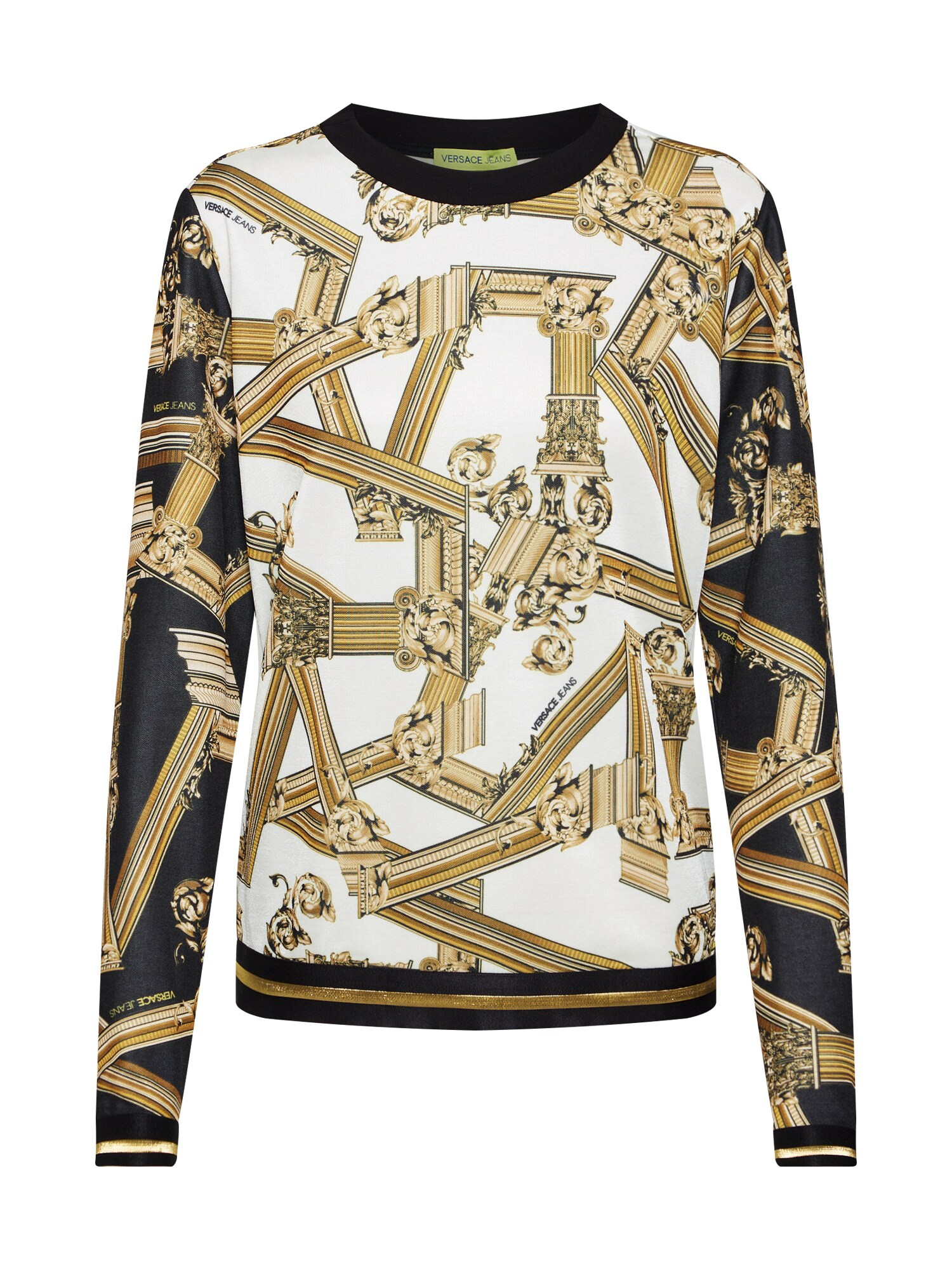 Mikina TDM309 print mix barev Versace Jeans