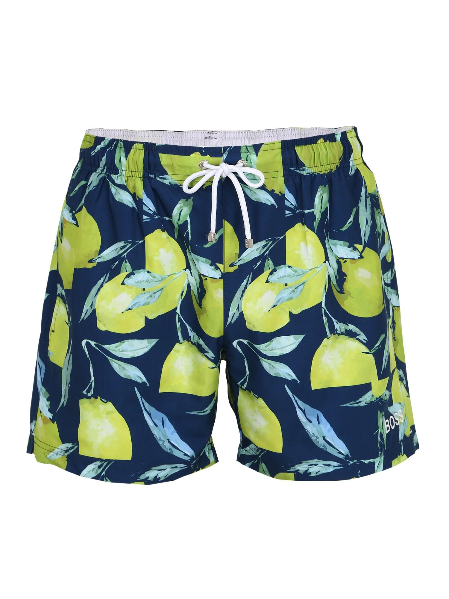 BOSS Kelnės 'Lemon Shark' mėlyna