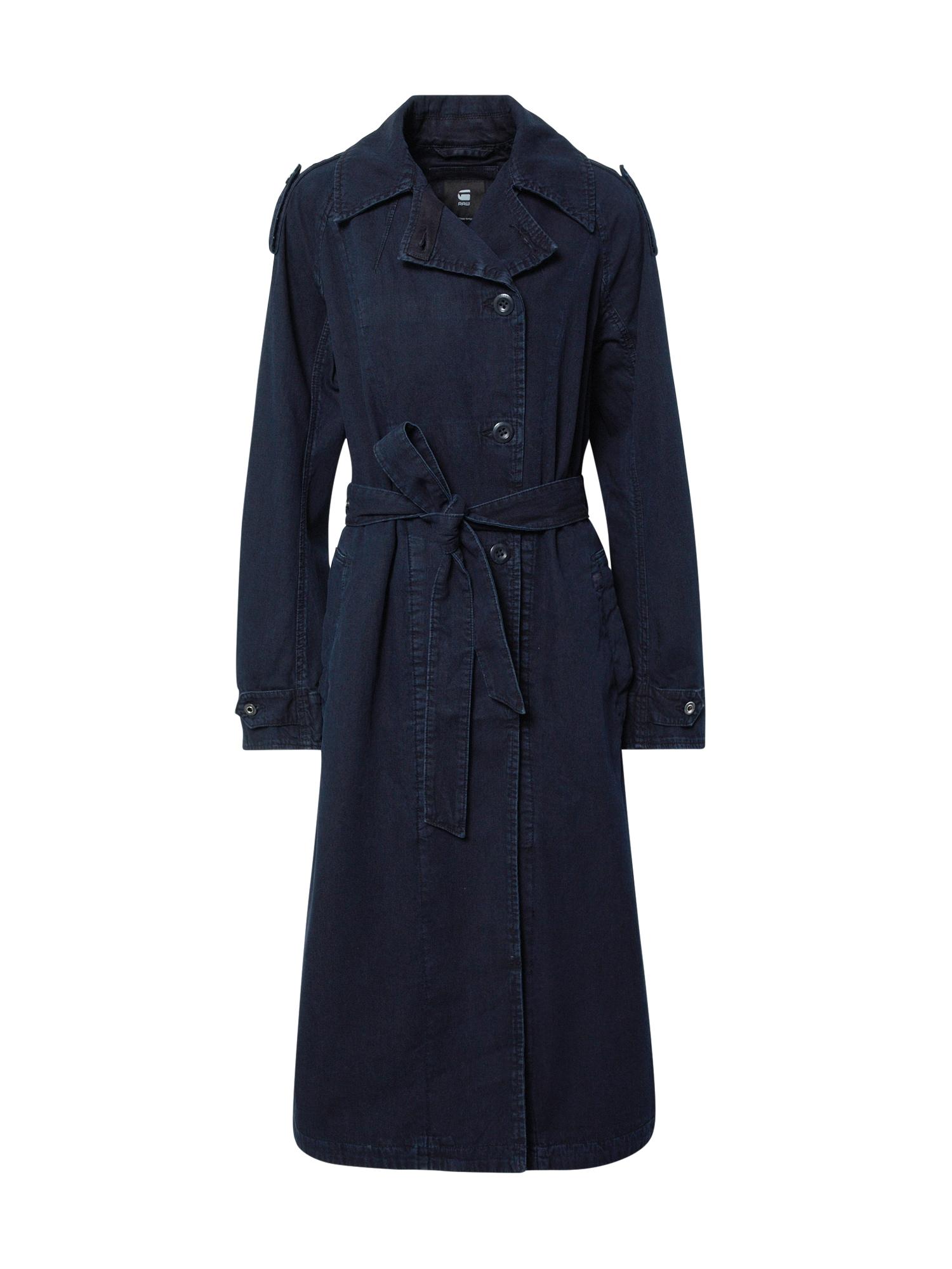 G-Star RAW Rudeninis-žieminis paltas tamsiai mėlyna
