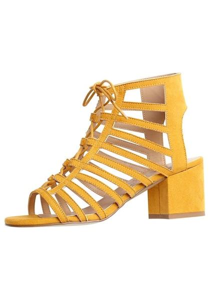 Sandalen - Sandalette › Lascana › honig  - Onlineshop ABOUT YOU