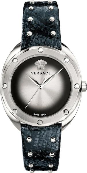 Uhren für Frauen - VERSACE Schweizer Uhr 'Shadov' schwarz silber  - Onlineshop ABOUT YOU