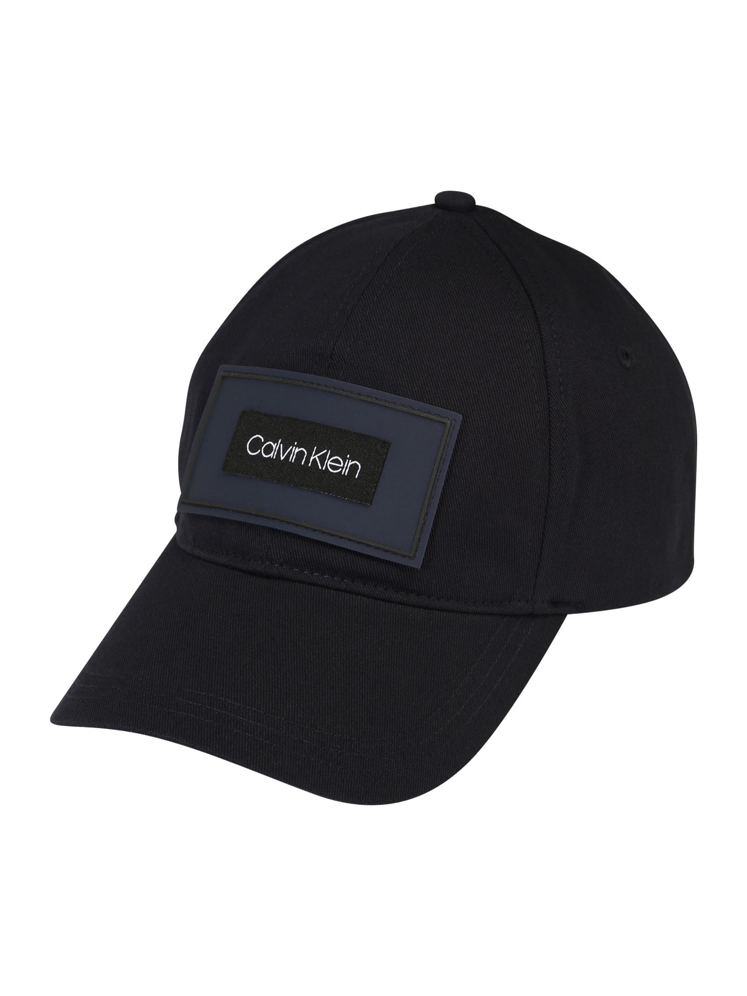 Calvin Klein Čiapka  tmavomodrá / tmavomodrá / biela