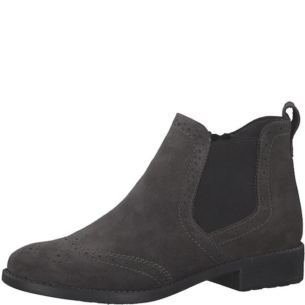 Stiefel für Frauen - TAMARIS Chelsea Boots grau  - Onlineshop ABOUT YOU