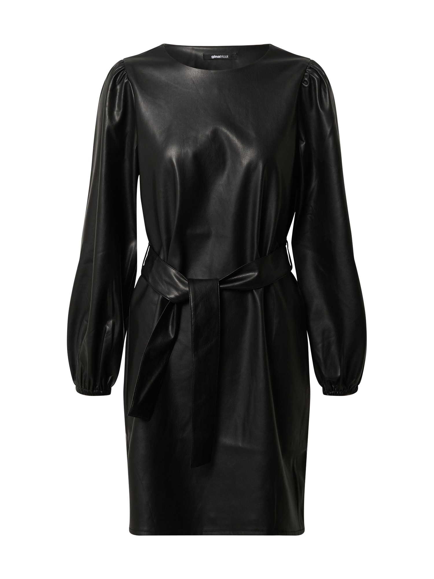Gina Tricot Kokteilinė suknelė 'Amanda' juoda
