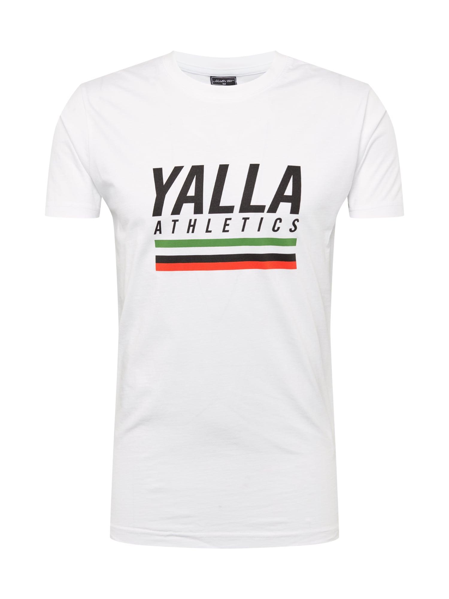 Tričko Yalla Athletic mix barev bílá Mister Tee