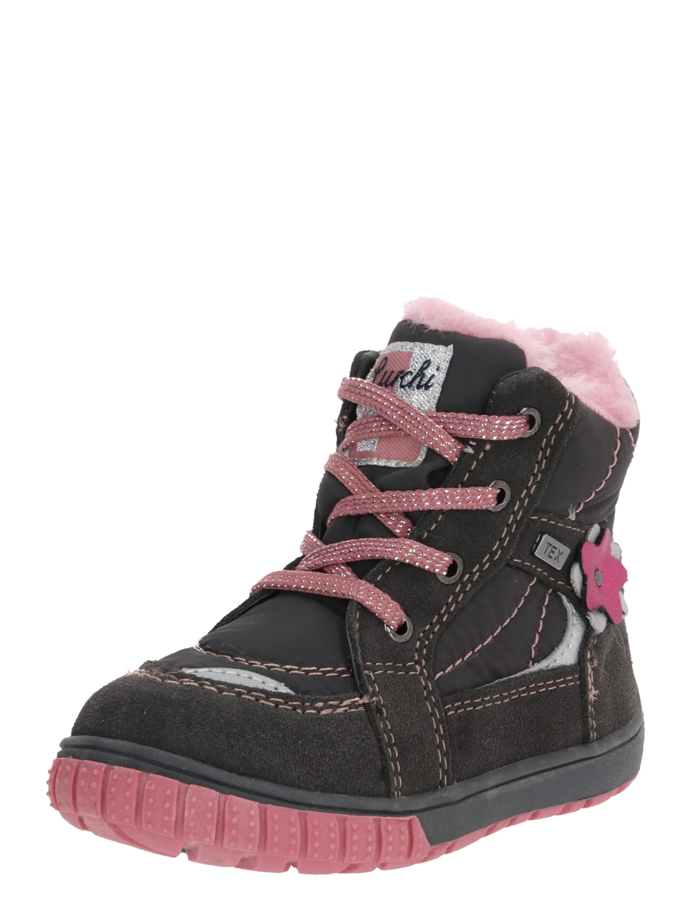 Kinder,  Mädchen,  Kinder LURCHI Stiefel blau, braun,  rosa | 04057695624758
