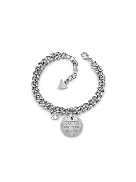 Armbaender - Armband 'American dream' › Guess › silber  - Onlineshop ABOUT YOU