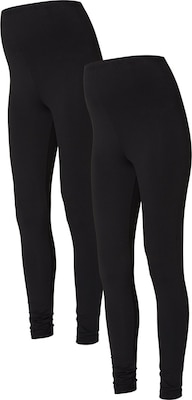 MAMALICIOUS Umstandsleggings 2er-Pack, Basic