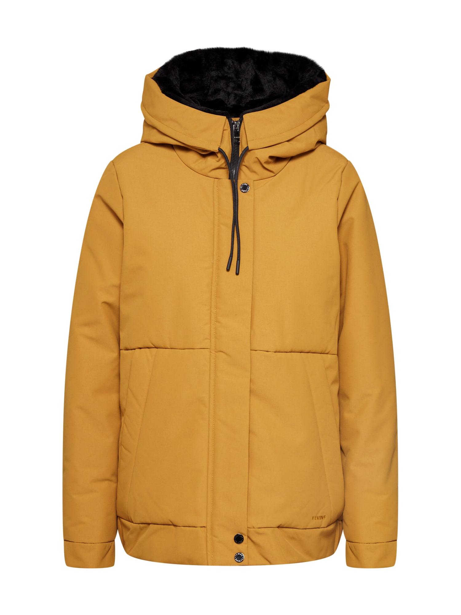 elvine Žieminė striukė 'Tehlla' geltona