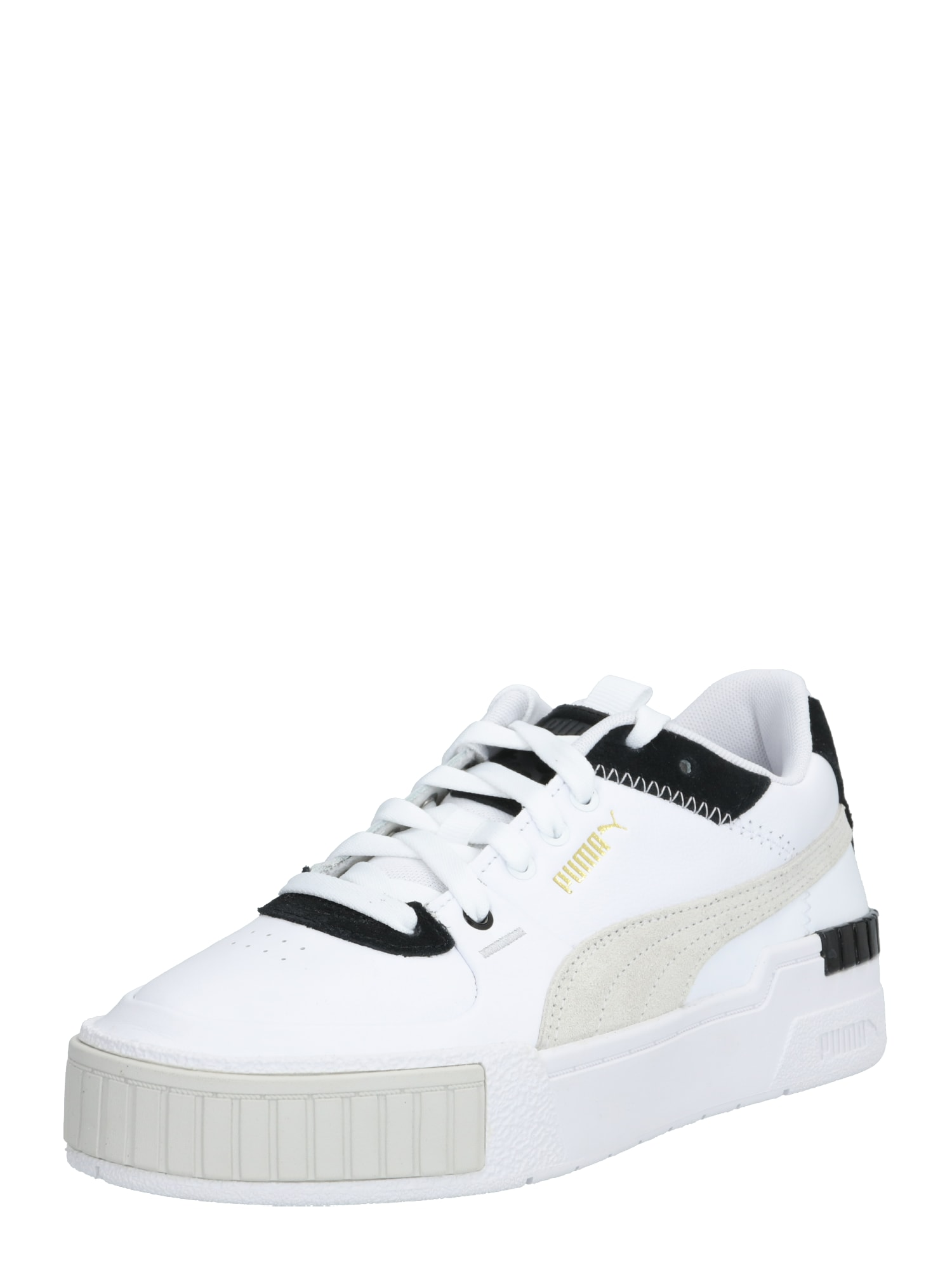 PUMA Nízke tenisky 'Cali Sport Mix'  biela / čierna