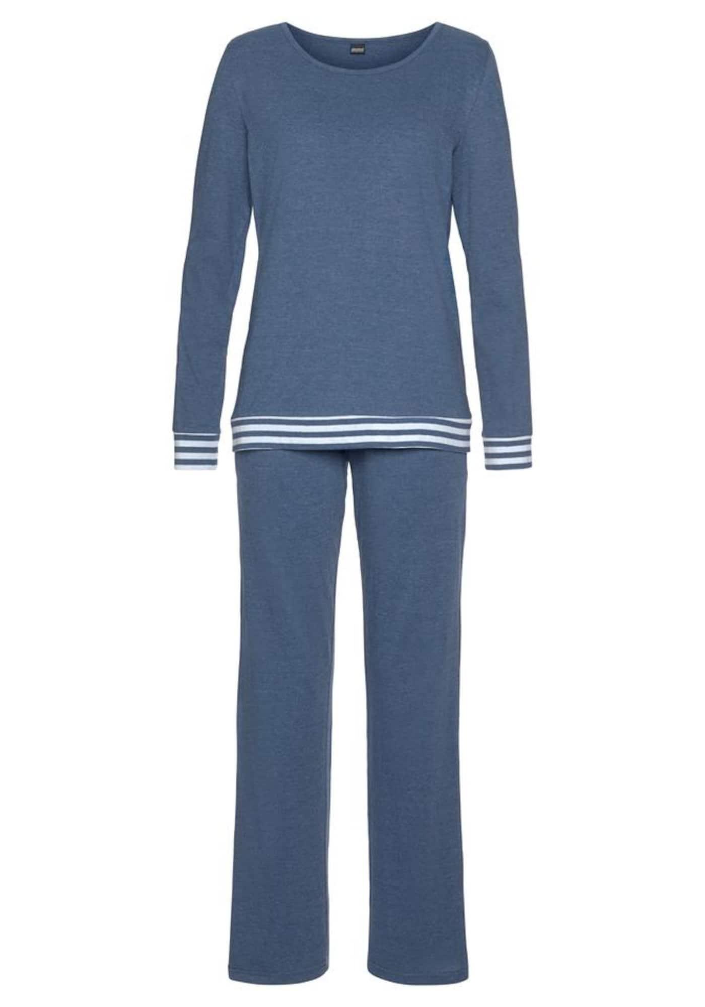 ARIZONA Pižama tamsiai mėlyna