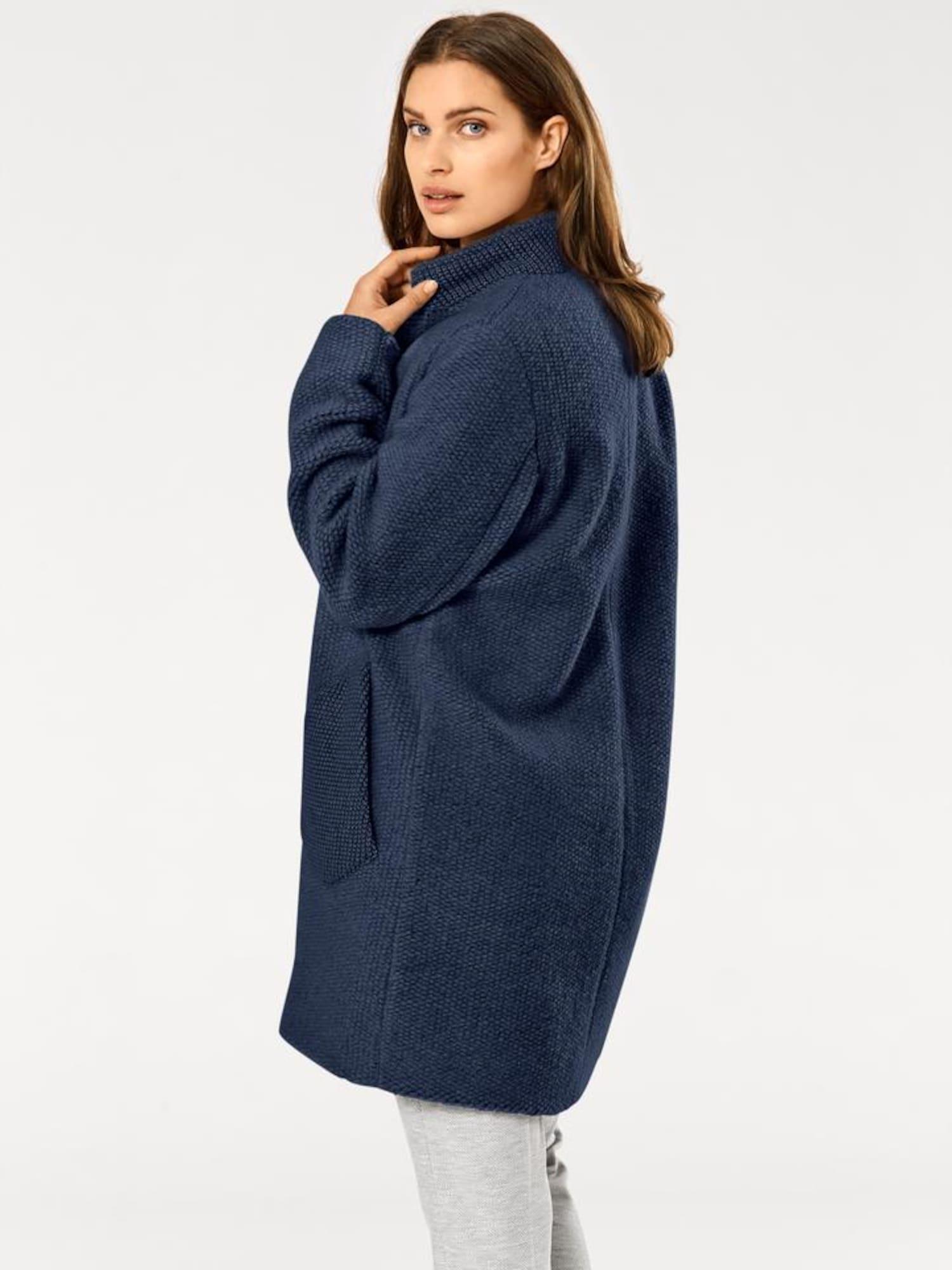 heine Demisezoninis paltas tamsiai mėlyna jūros spalva