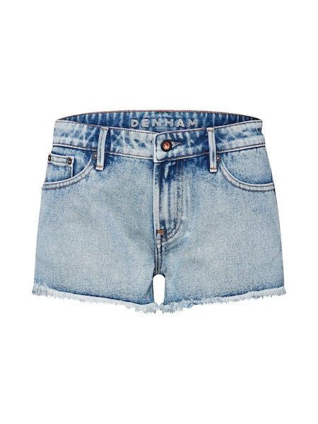 Hosen für Frauen - Jeans 'Monroe Short' › Denham › blau  - Onlineshop ABOUT YOU