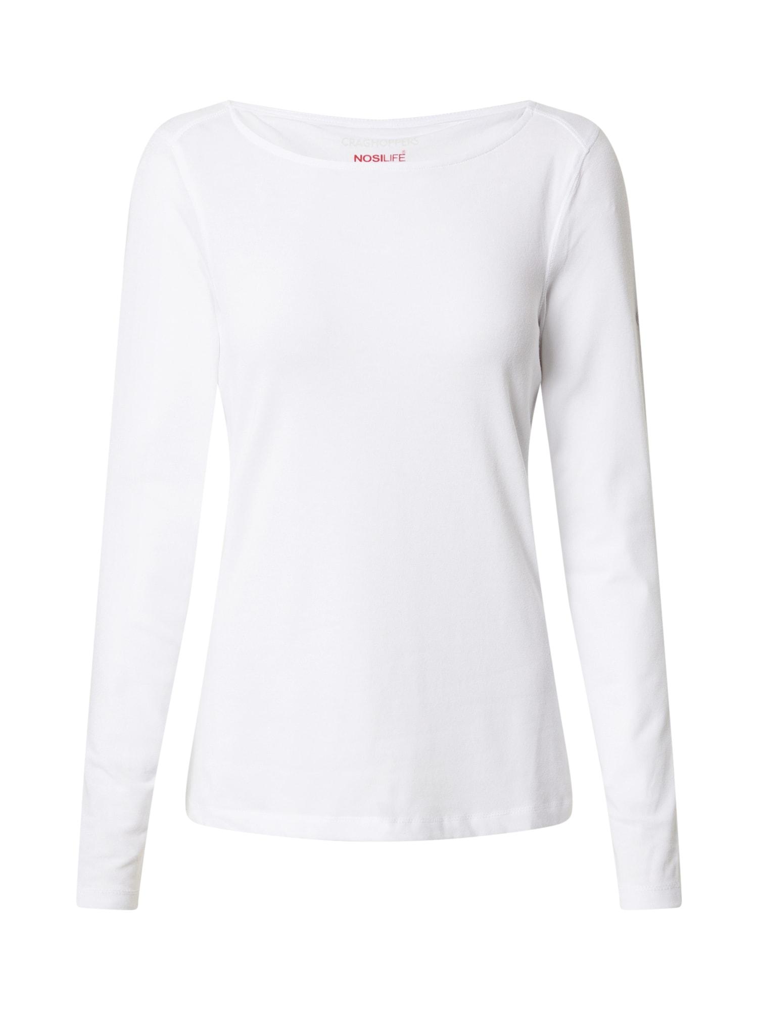 CRAGHOPPERS Sportiniai marškinėliai balta