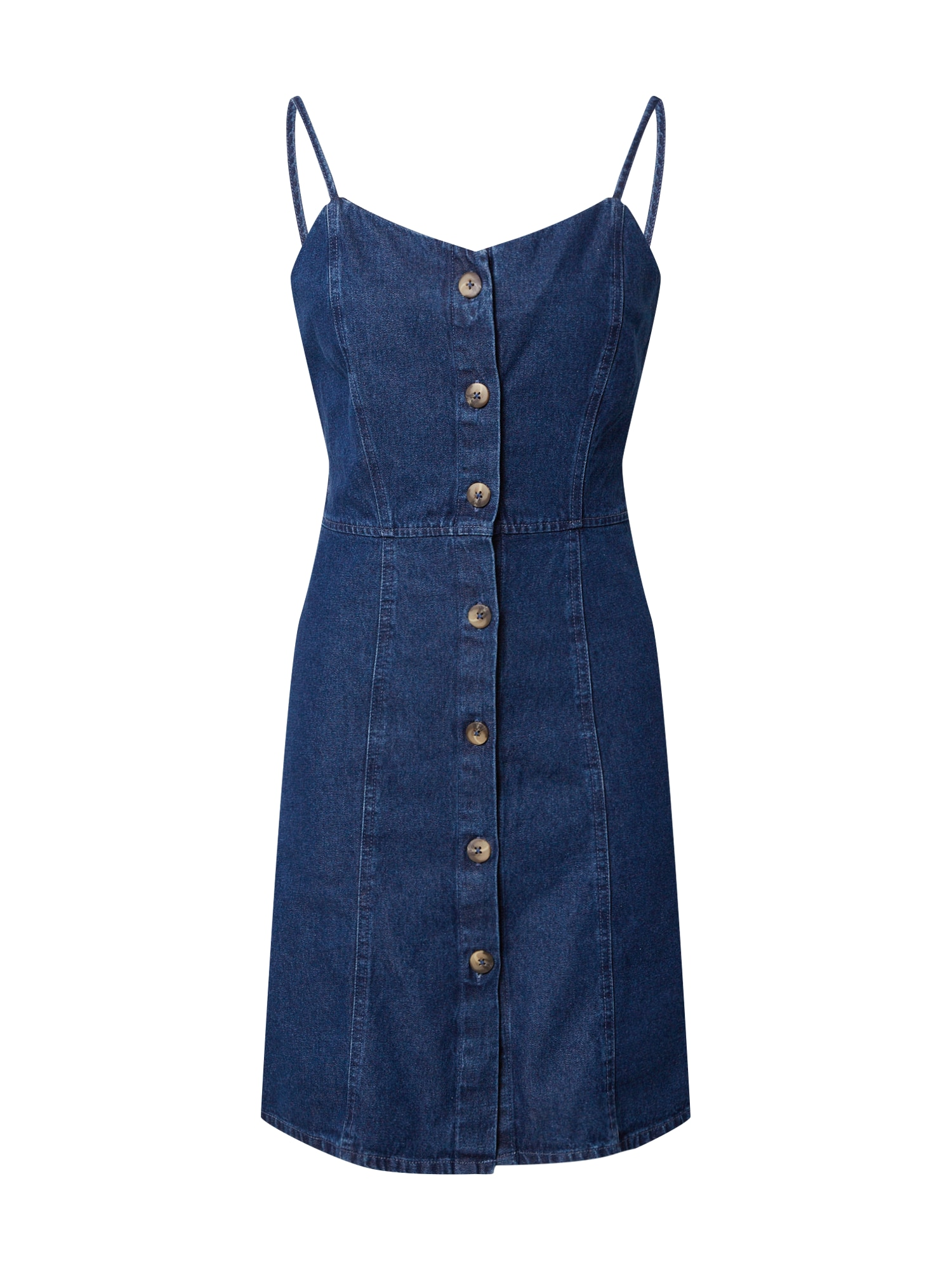 PIECES Letné šaty 'MALLE'  modrá denim