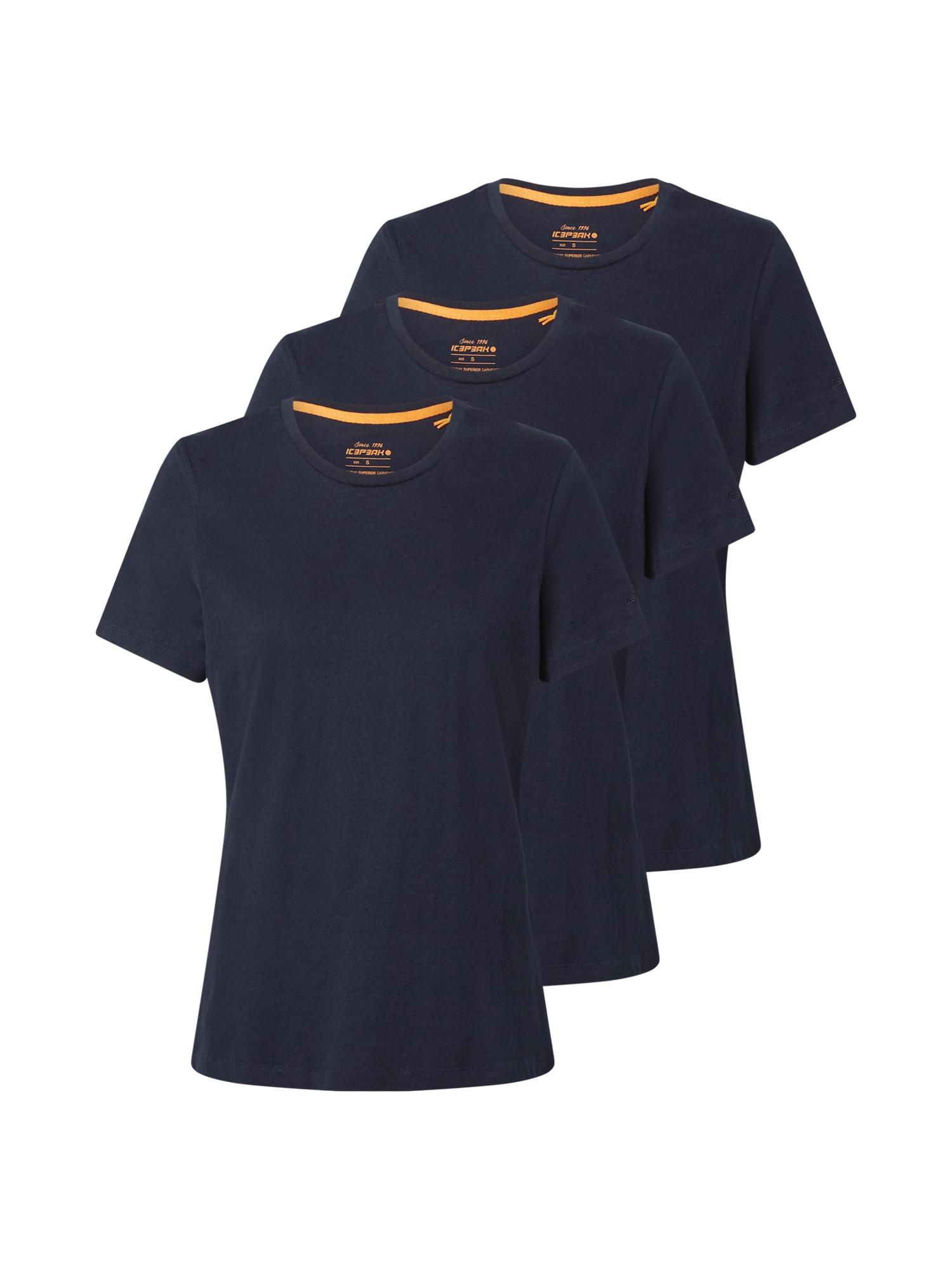 ICEPEAK Funkční tričko 'INGLIS'  tmavě modrá