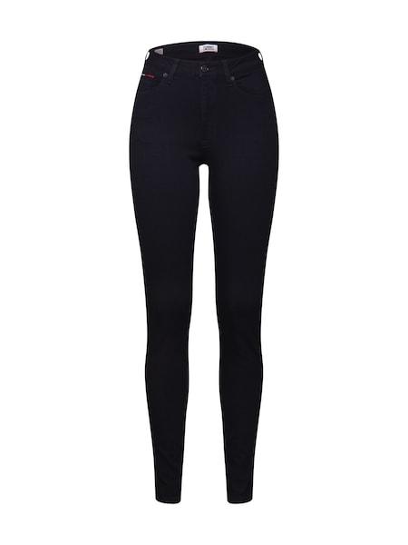 Hosen - Jeans 'Super Skinny TJ 2008' › Tommy Jeans › black denim  - Onlineshop ABOUT YOU