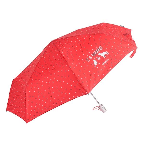 Regenschirme für Frauen - SAMSONITE Accessoires Taschenschirm 26 cm grenadine weiß  - Onlineshop ABOUT YOU