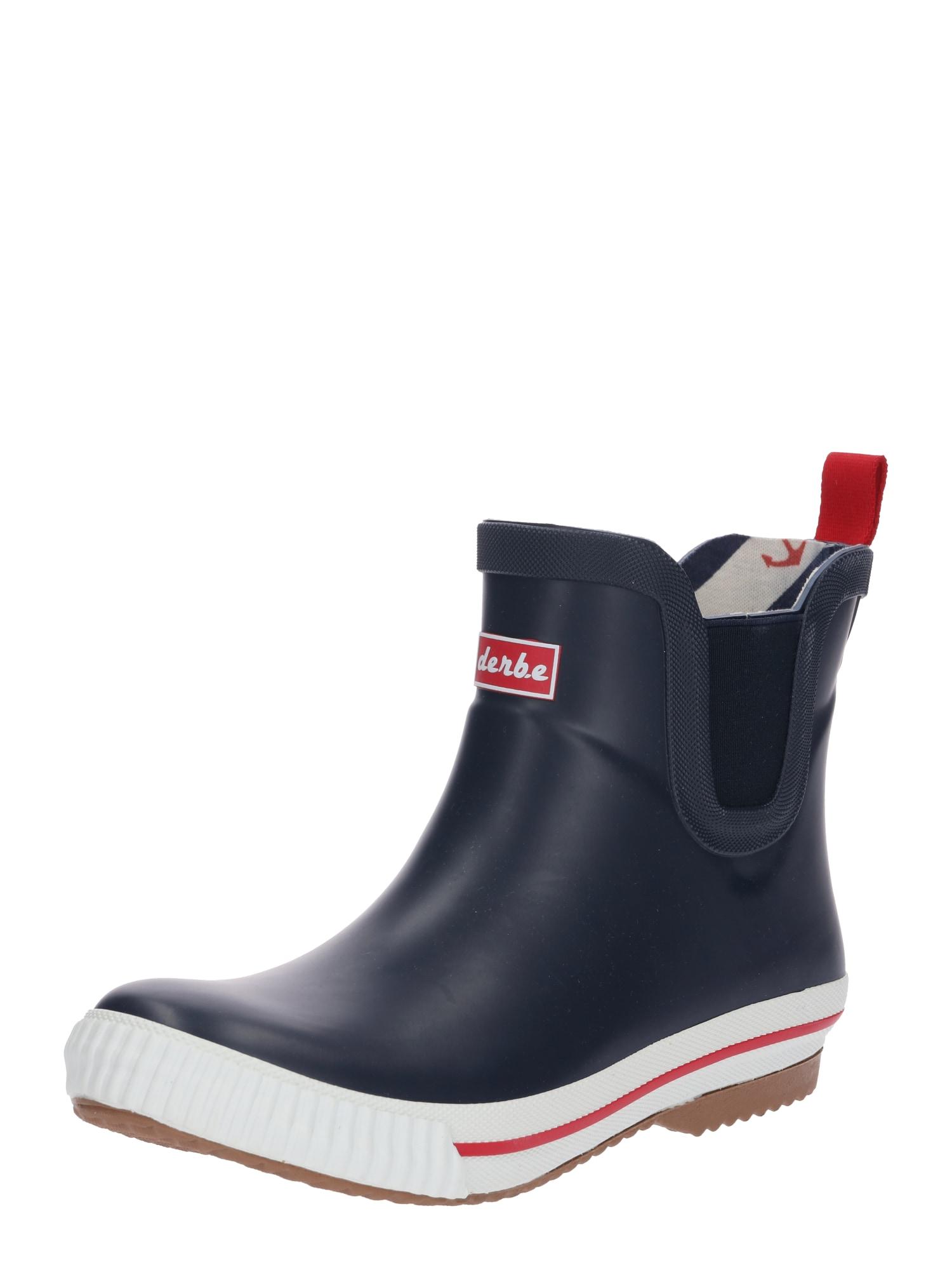 Derbe Guminiai batai 'Wattpuuschen' tamsiai mėlyna