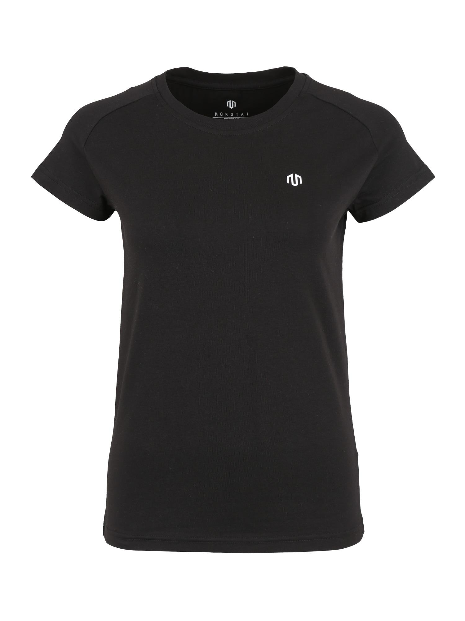 Funkční tričko PREMIUM černá bílá MOROTAI