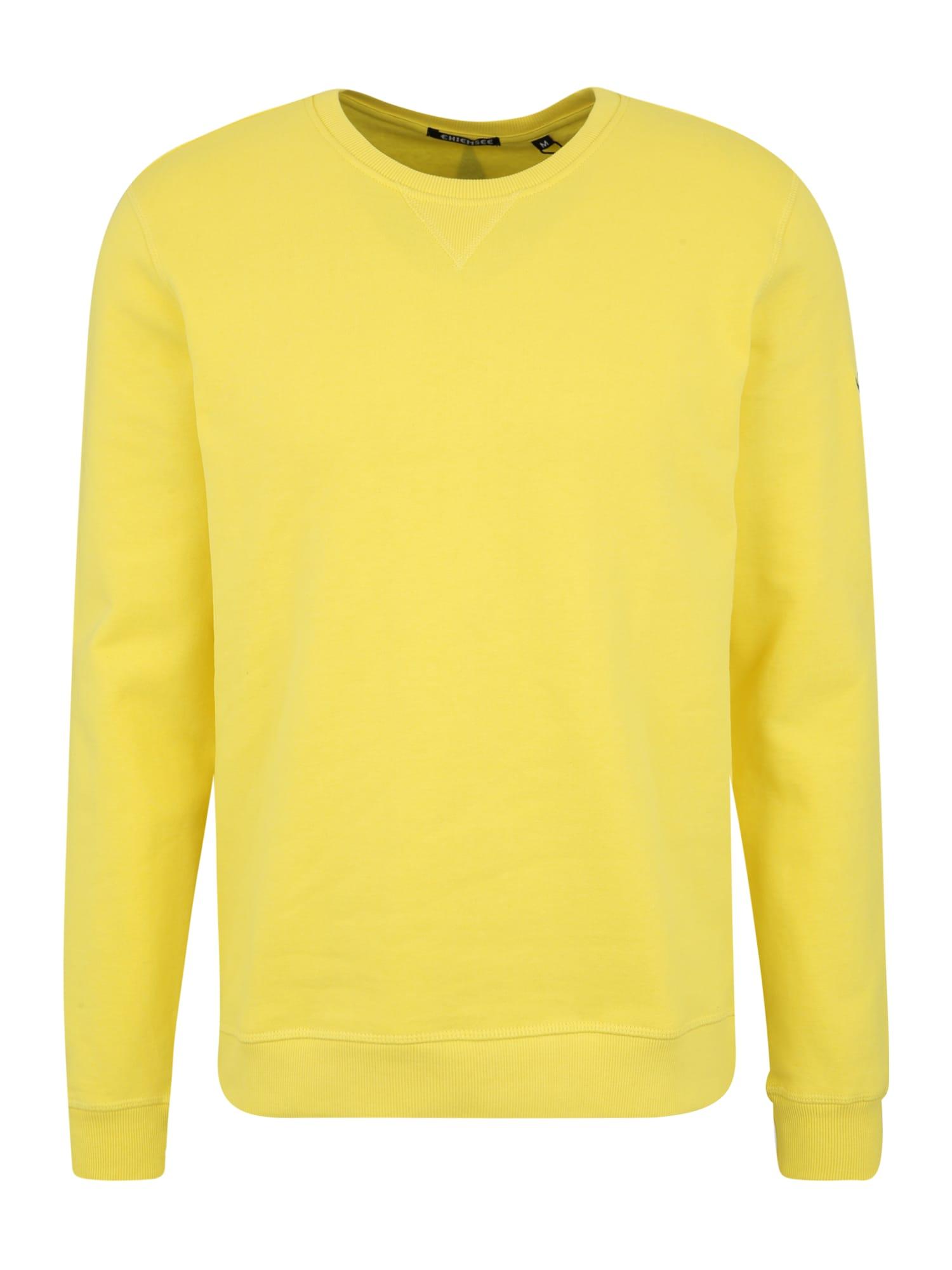 CHIEMSEE Sportinio tipo megztinis geltona