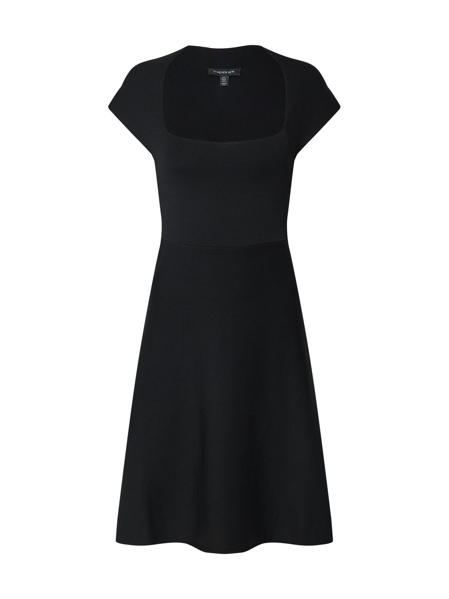 Jurk 'Morgan Square Neck Knit Dress'