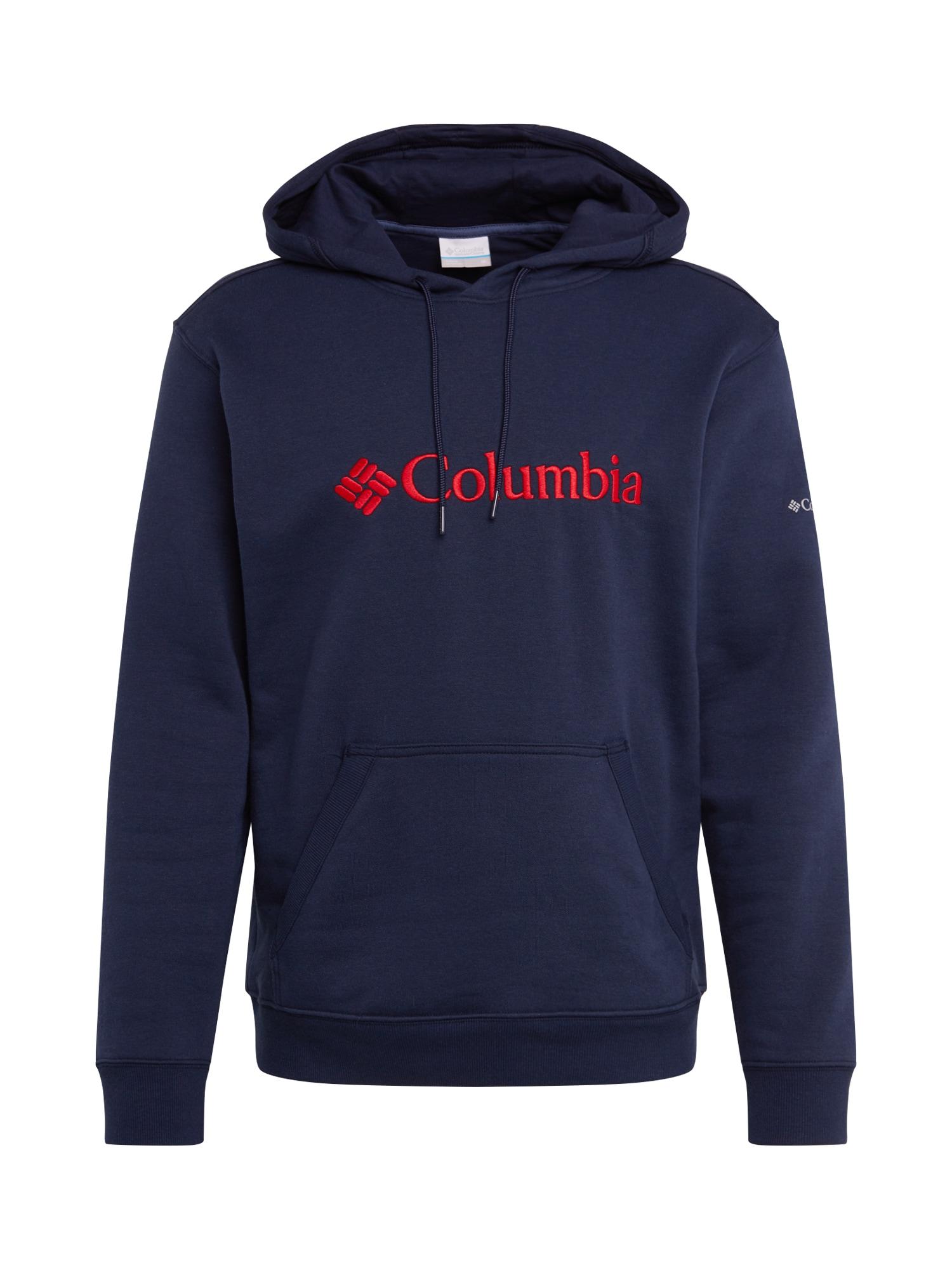 COLUMBIA Megztinis be užsegimo raudona / tamsiai mėlyna